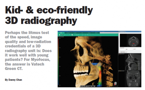 Kid- & eco-friendly 3D radiography, GREEN CT